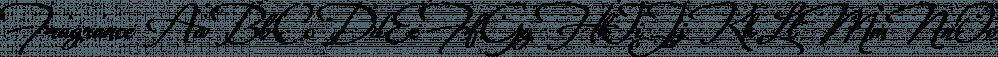 Fragrance font family by Scholtz Fonts