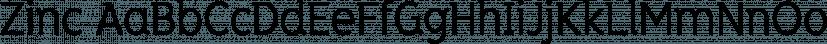Zinc font family by K-Type