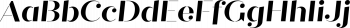 Quiche Stencil Bold Italic mini