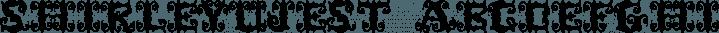 ShirleyUJest font family by Ingrimayne Type
