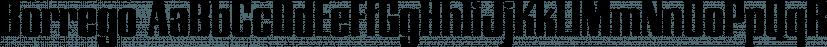 Borrego font family by FontSite Inc.