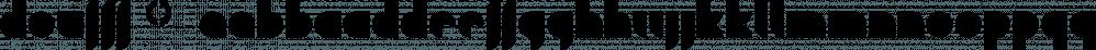Doufff™ font family by MINDCANDY