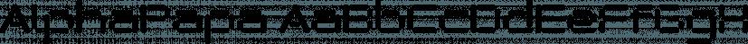 AlphaPapa font family by Wiescher-Design