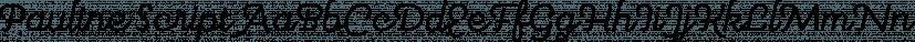 Pauline Script font family by Insigne Design