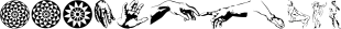 P22 Rodin-Michelangelo font family mini