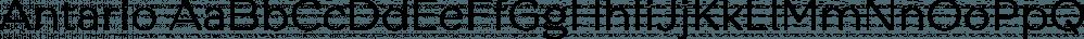 Antario font family by Locomotype