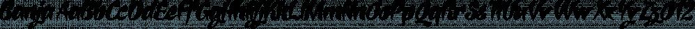 Banja font family by Typogama