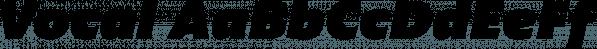Vocal font family by Ani Dimitrova