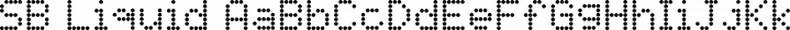 SB Liquid Dot font family by SelfBuild Type Foundry
