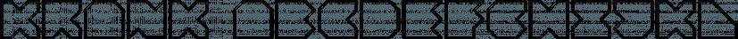 Krank font family by Matt Grey Design