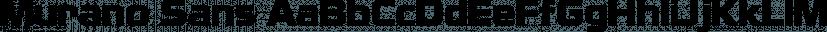 Murano Sans font family by FontSite Inc.