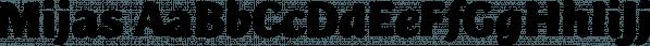 Mijas font family by Eurotypo