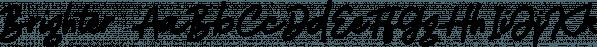 Brighter font family by Letterhend Studio