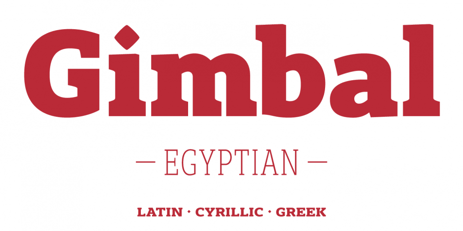 Download Gimbal Egyptian Font Family