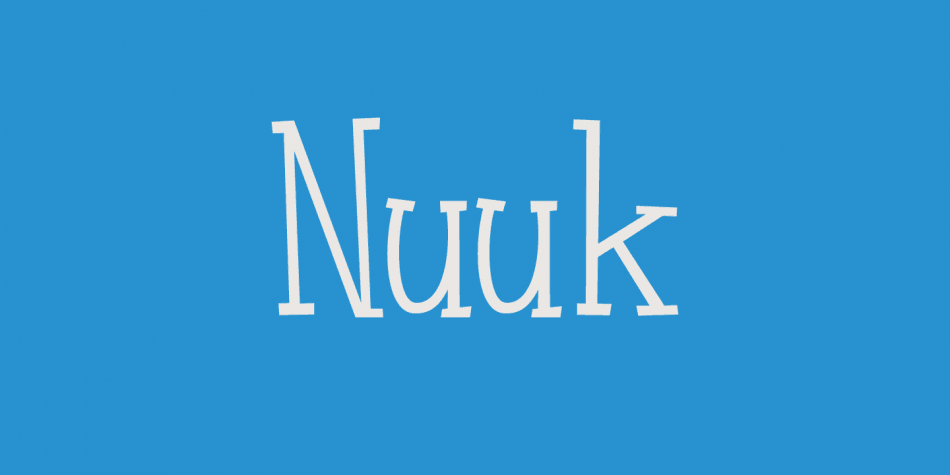 Download Nuuk Font Family