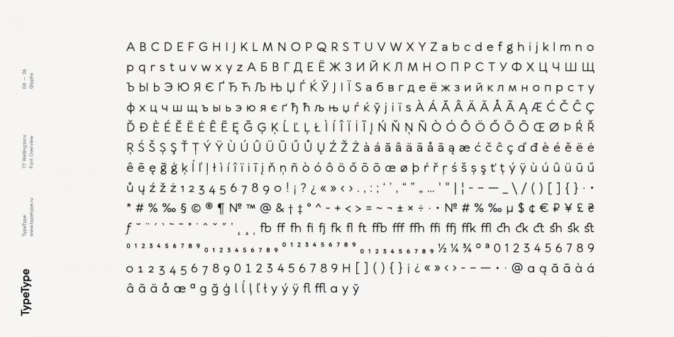 Download TT Wellingtons Font Family